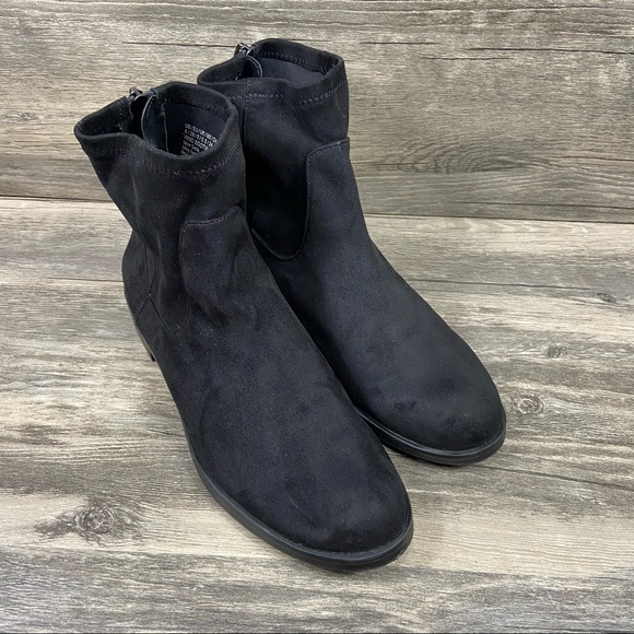 Kenneth Cole Reaction Wind Boots Fabric Suede